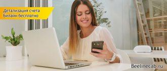 Детализация счета Билайн бесплатно узнать, посмотреть полностью